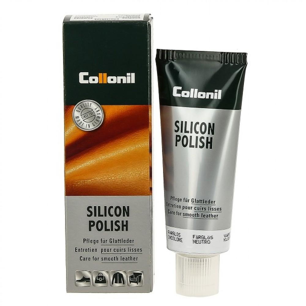 Пропитывающий крем для гладкой кожи Collonil Silicon Polish
