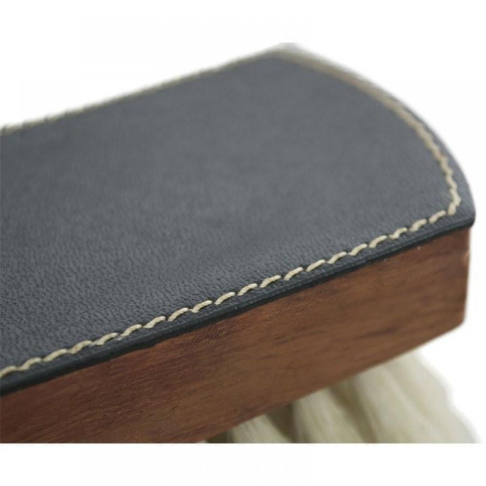 2646 Щетка для обуви La Cordonnerie (дерево, натуральная щетина, кожа)