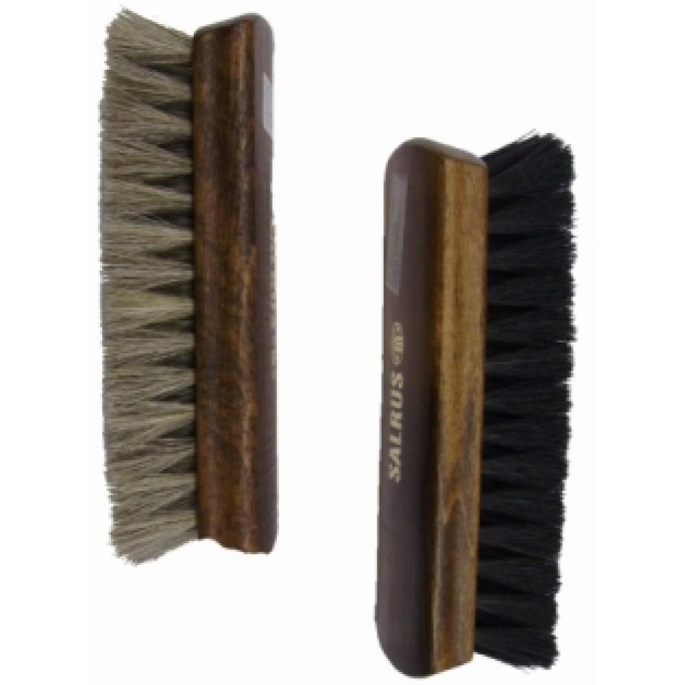 Щетка для полировки обуви Salrus, 17 см, натуральный ворс 13630/13631