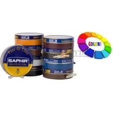 0002 Крем для гладкой кожи Pate De Luxe Saphir