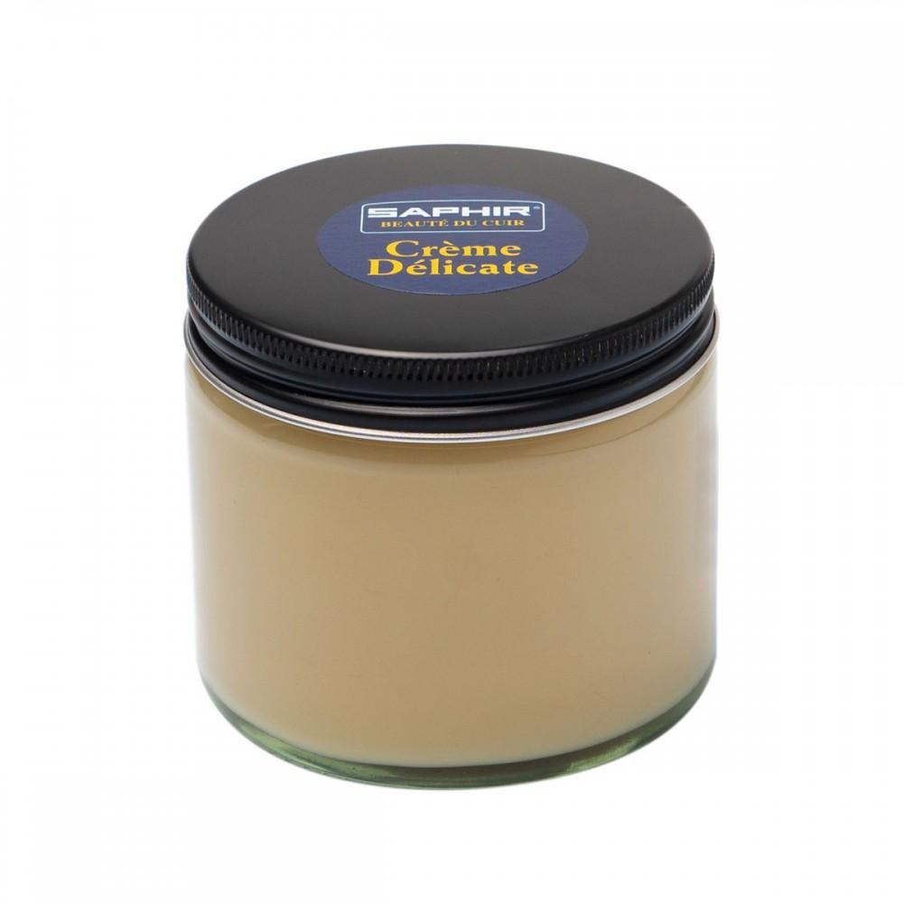 0125 Крем-бальзам для нежных и чувствительных кож, Saphir Delicate cream, 250мл