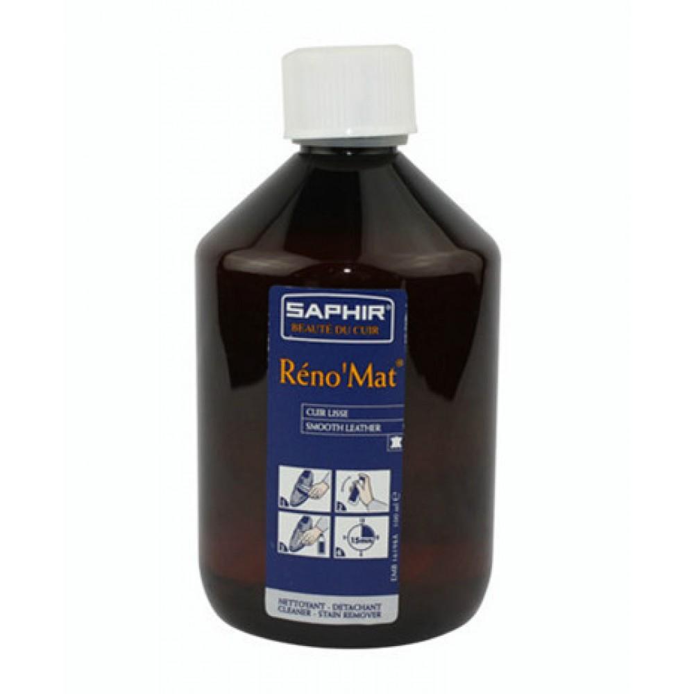 0518 Очиститель для гладкой кожи Saphir RenoMat, 500мл