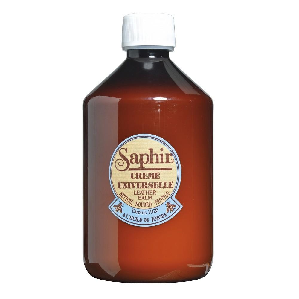 0905 Очиститель-бальзам для гладкой кожи Saphir Creme Universelle, 500мл