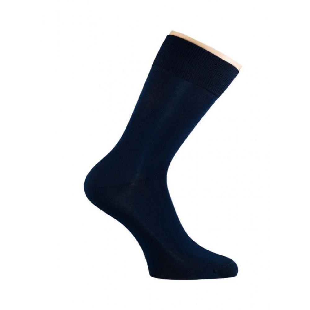Носки мужские Saphir, черные, хлопок (48%), микромодал (47%), эластан (5%), размеры в наличии
