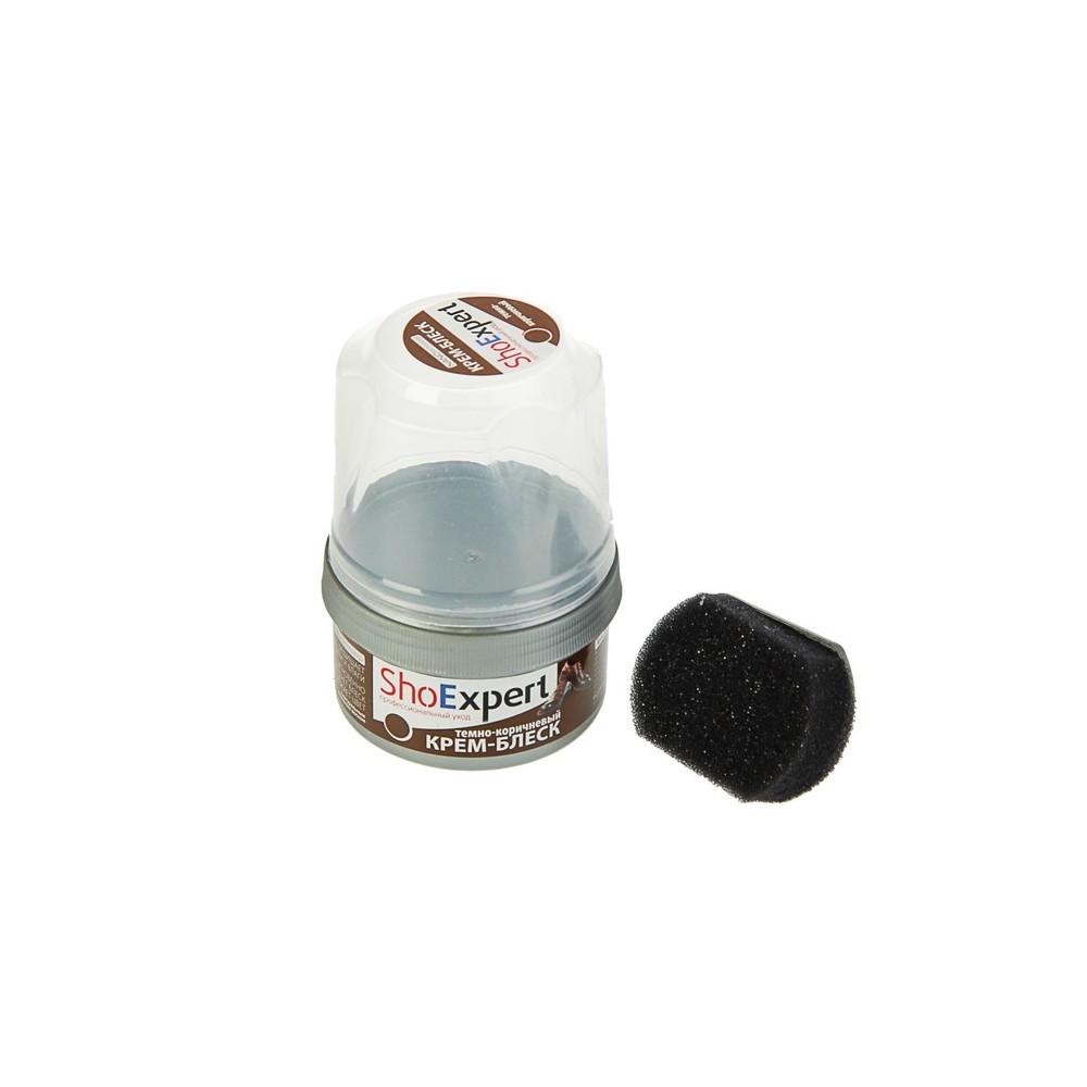 SE01 Крем-блеск для обуви из гладкой кожи Shoexpert