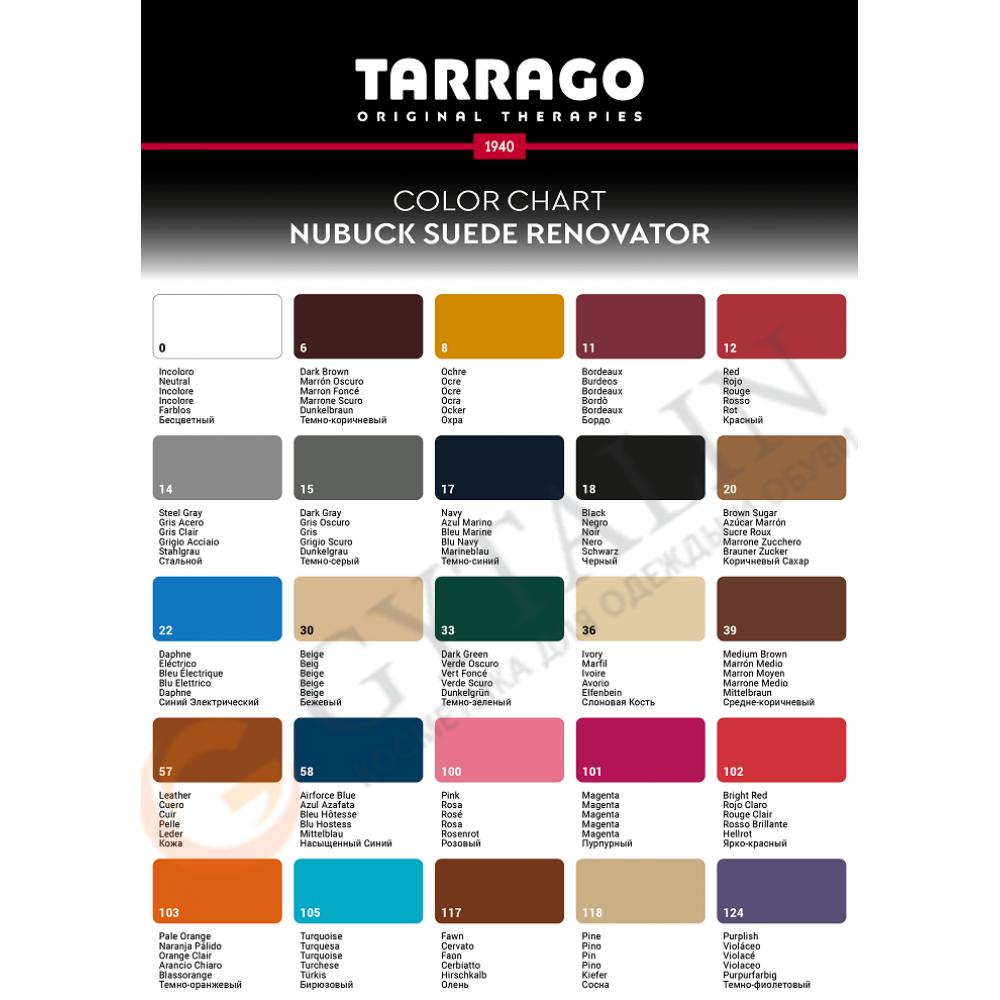 TCS19 Аэрозоль-краситель для замши Tarrago Nubuck Suede Renovator
