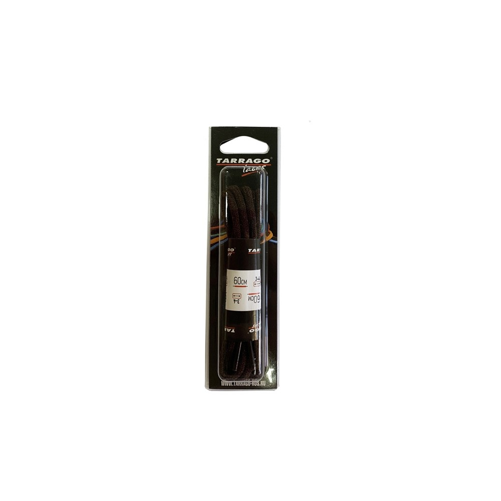 Шнурки 60 см, Круглые средние Tarrago (2 цвета)