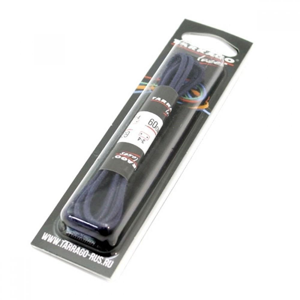 Шнурки 60 см, Круглые тонкие с пропиткой Tarrago (4 цвета)