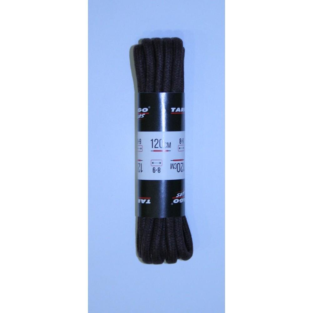 Шнурки 120 см, Круглые толстые с пропиткой Tarrago (2 цвета)