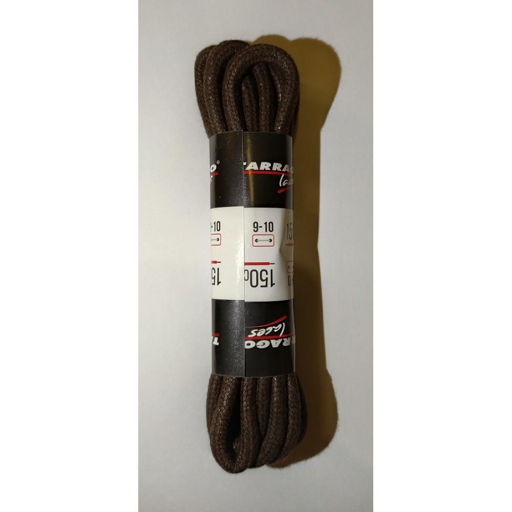 Шнурки 150 см, Круглые толстые с пропиткой Tarrago (2 цвета)