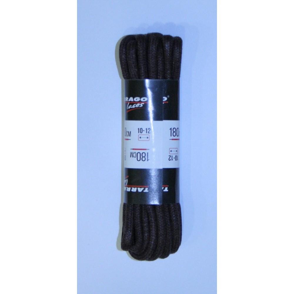 Шнурки 180 см, Круглые толстые с пропиткой Tarrago (2 цвета)