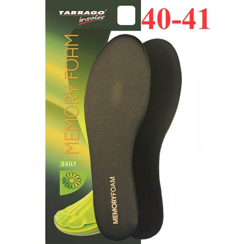 ID033 Анатомические стельки с эффектом памяти Tarrago Memory Foam, размерный ряд
