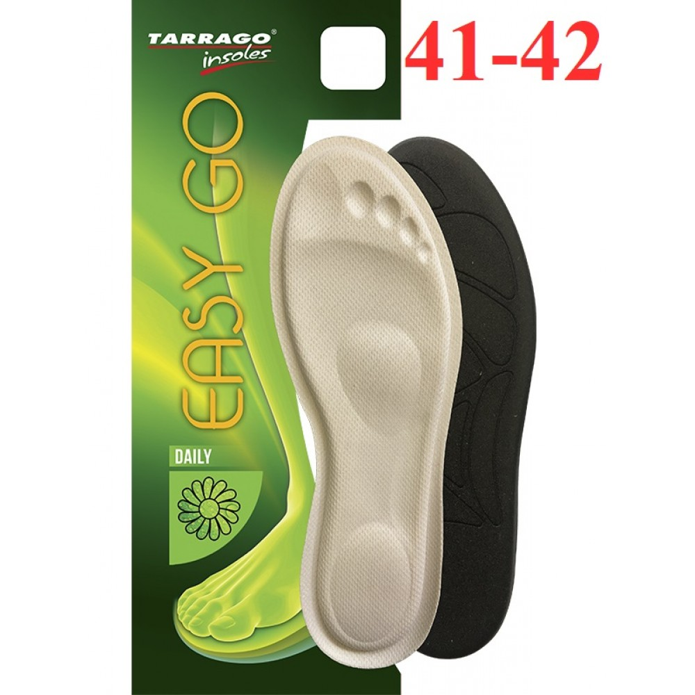 ID035 Анатомические стельки с эффектом памяти Tarrago Easy Go, размерный ряд