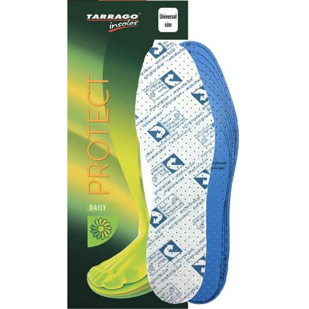 ID1231 Стельки латексные антибактерицидные, Tarrago Protect, безразмерные