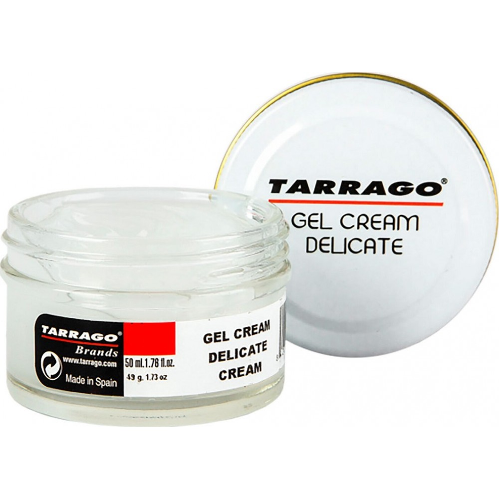 TCT32 Крем-гель для тонких и деликатных кож, банка Tarrago Gel Cream
