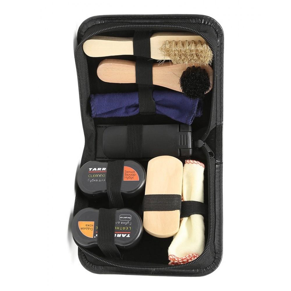 TCV66315 Набор для ухода за обувью в кожаном футляре Tarrago