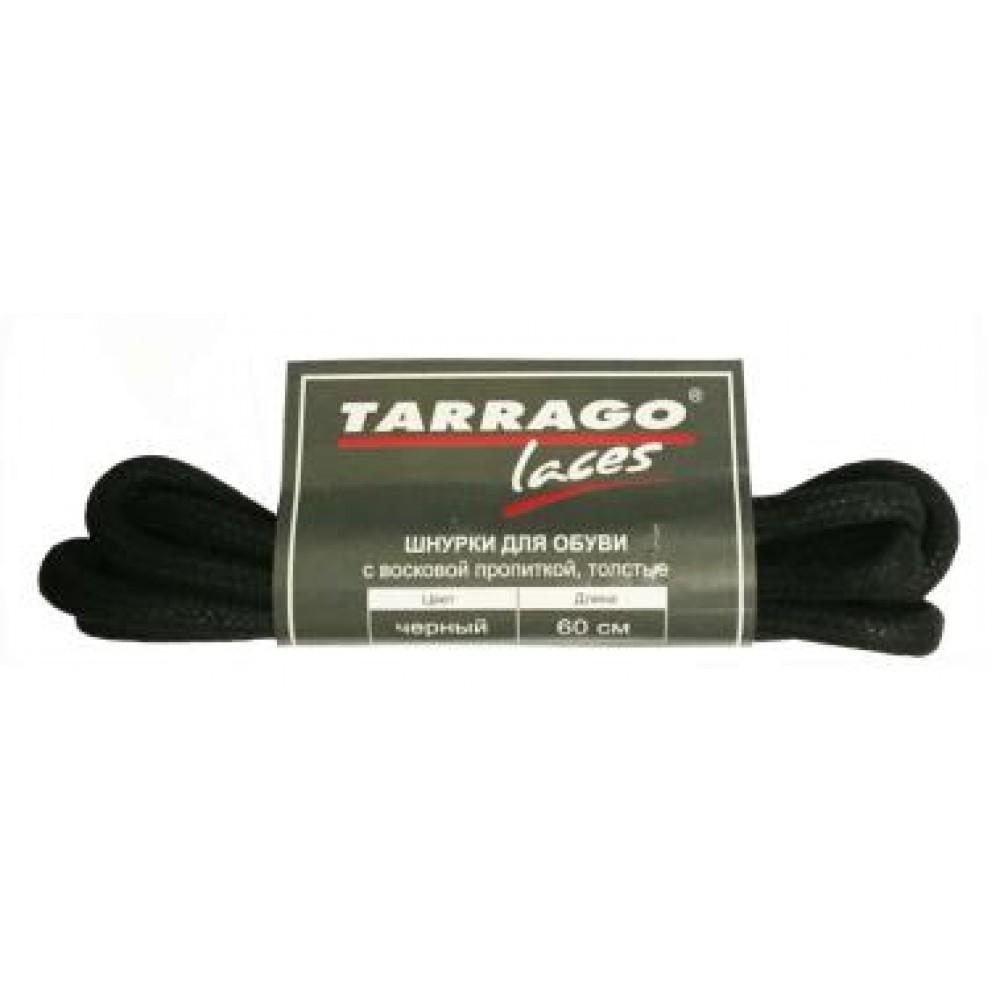 TL3010 Шнурки 60 см круглые толстые с пропиткой черные