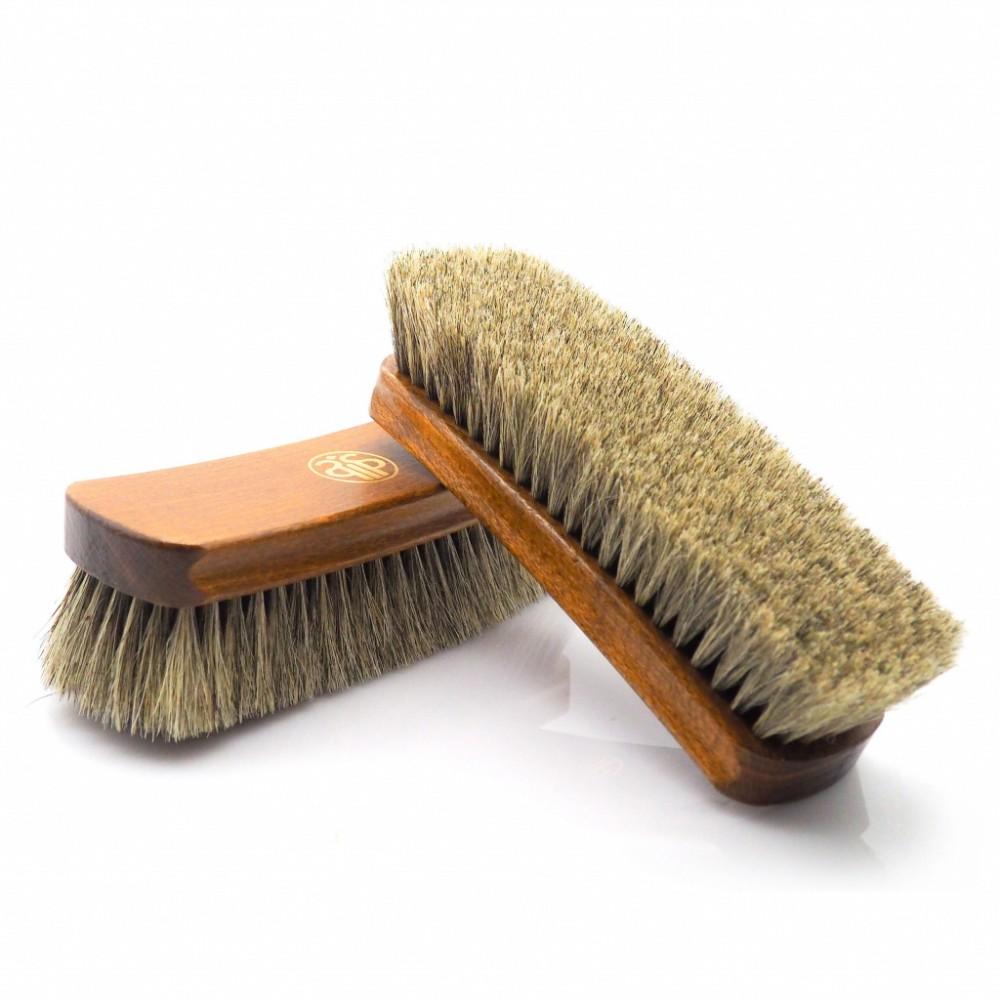 Щетка для полировки обуви Salrus, 20.5 см, натуральный ворс, 12630/12631