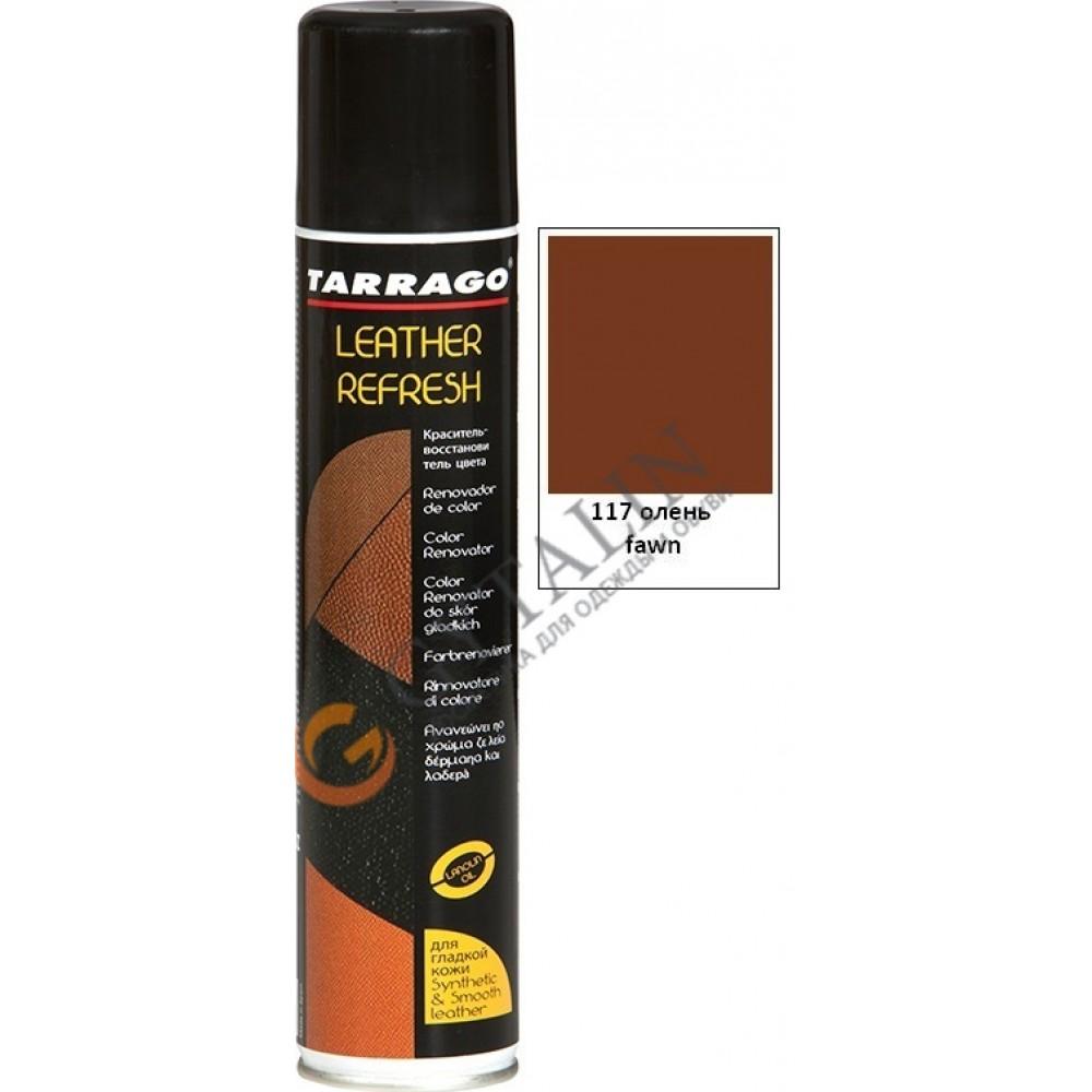 TCS20 Аэрозоль-краситель для гладкой кожи Tarrago Leather Refresh